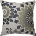 """Blue Marais Floor Throw Pillow (16.5""""x16.5"""") - Pillow Perfect"""