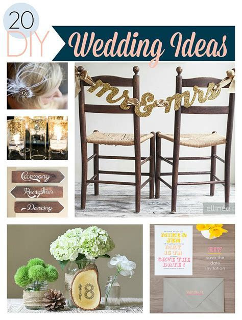 DIY Wedding Ideas For an Amazing Day   Crafts Unleashed