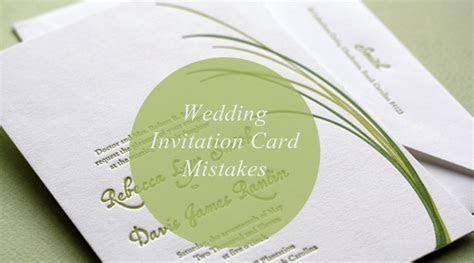 5 Wedding Invitation Card Mistakes Every Couple Should Avoid
