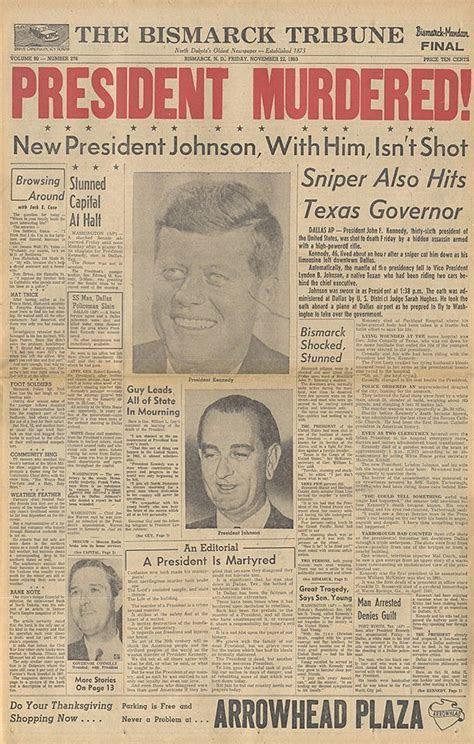 The Bismack ,North Dakota Tribune : President Murdered