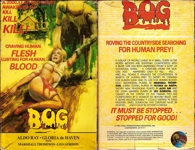 Bog (VHS Box Art)