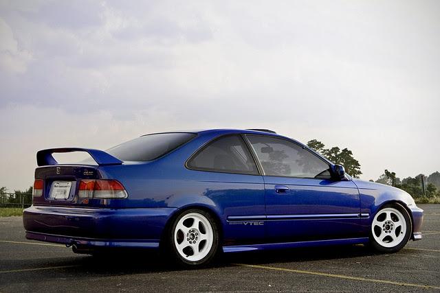Electron Blue Pearl Honda Civic SI