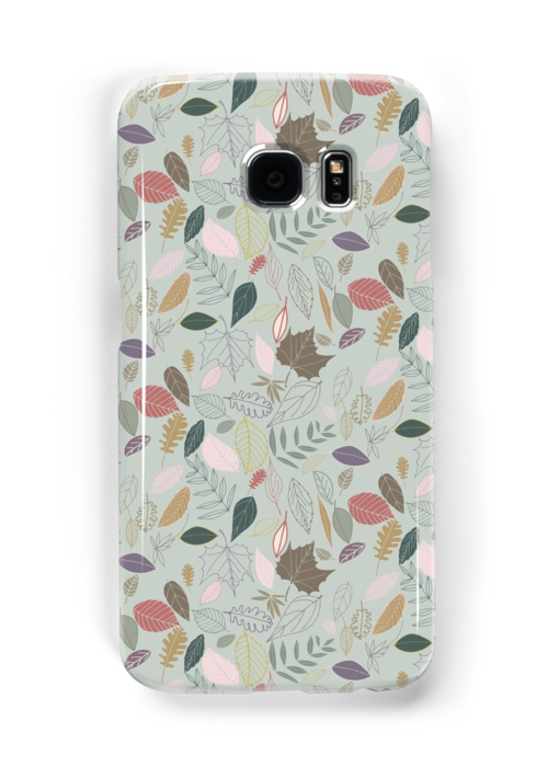 'Autumn Leaves, Morning mist' Samsung Galaxy Case/Skin by CraftCartwright