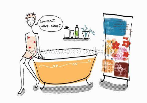 Daj168 Illustration Pop Life イラストシリーズポップライフ