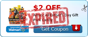 $2.00 off Armor All Father's Day Gift Pack Caddy