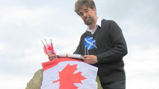 Scotland could leave the UK, and join Canada instead, says author - BBC News