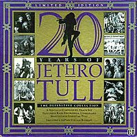 20 Years of Jethro Tull cover