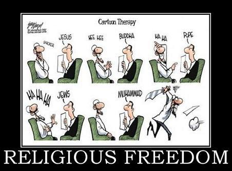 religious freedom demotivational poster