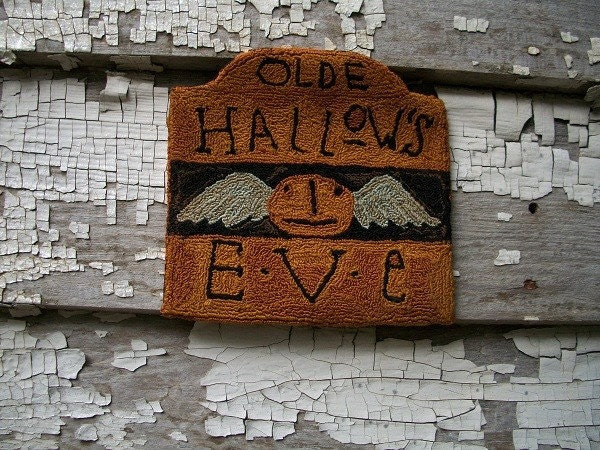 Punch Needle Pattern from Notforgotten Farm-Olde Hallows Eve