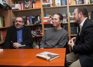 Julián Díez, Ted Chiang y Luis G. Prado