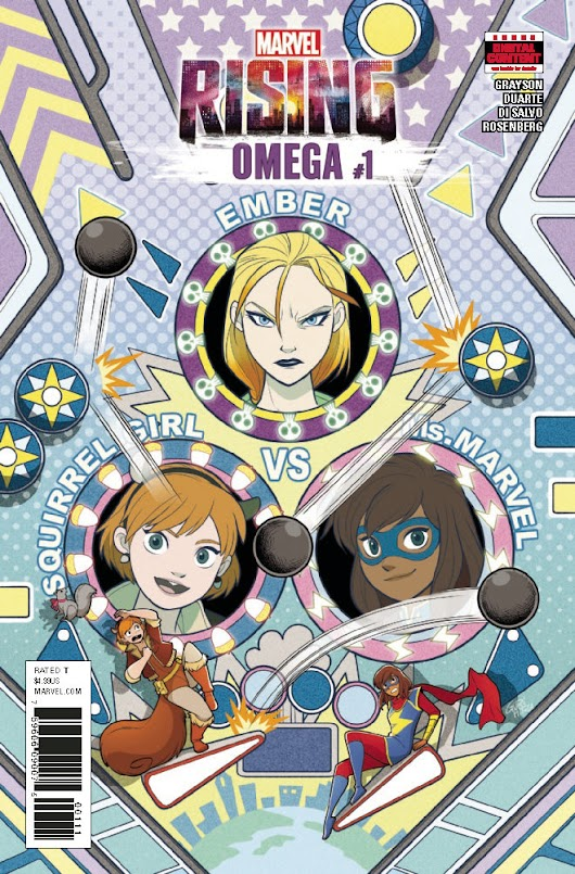 MARVEL RISING OMEGA #1 Preview – Pop Culture Network