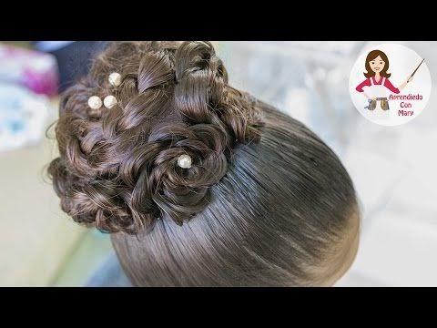Peinados Con Donas Para Ninas Elegantes