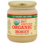 YS Royal Jelly/Honey Bee - 100% Certified Organic Honey (16 Ounces) - Honey