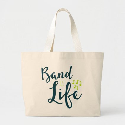 Band is Life Large Tote Bag