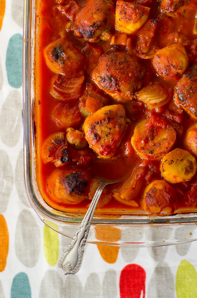 Tomati-kanahautis / Tomato and chicken stew