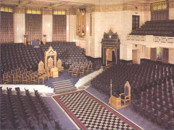 The Grand Temple, Freemasons' Hall, London