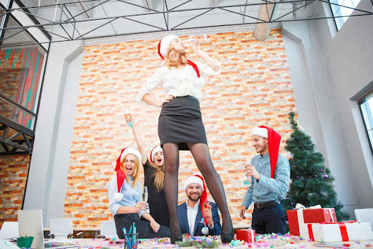 The Trouble With Company Holiday Parties