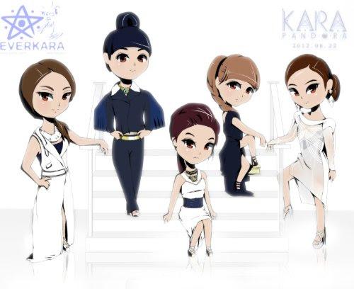 KARAファンブログで叫ぶ: KARA 新曲「PANDORA」ダンスバージョン ...