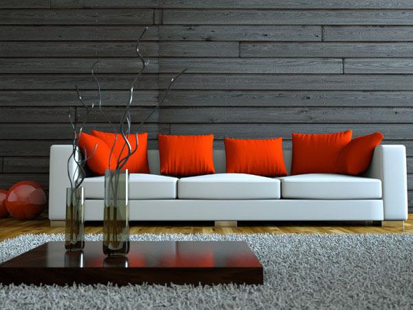Wandgestaltung Wohnzimmer | Wandgestaltung.com