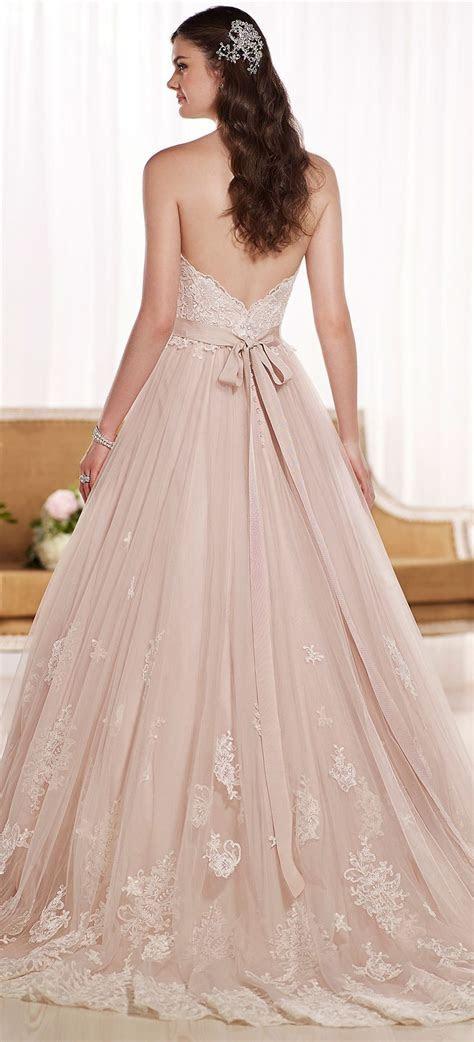 Blush princess wedding gown   Wedding dresses   Wedding