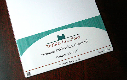 Shop Update - Cardstock! • TealKat's Blog