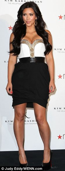 Weight loss success story: Kim Kardashian has been seen leaving the salon of Mary Ascension Saulnier