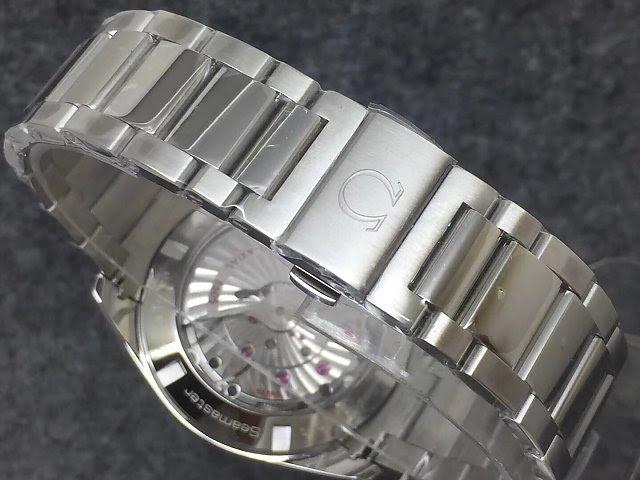 Omega Logo on Bracelet