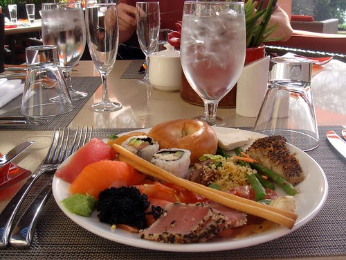 Brunch at the 4 Seasons