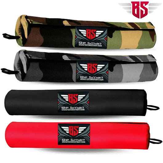 Details about Barbell Pad Cover Padded Olympic Standard Bar Pull Up Squat Weight Back Support