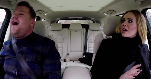 Adele and James Corden slay Carpool Karaoke with flawless harmonies