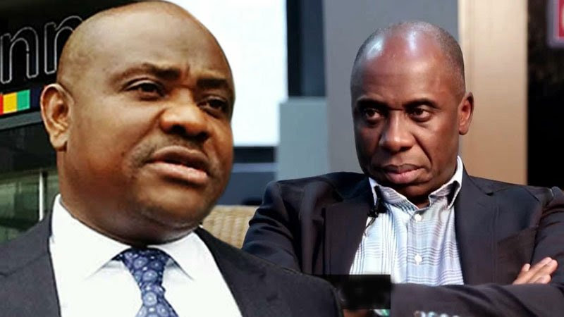 Image result for Wike to Amaechi