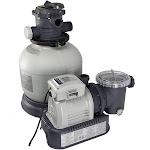 Intex 28647EG Krystal Clear 2800 GPH Above Ground Swimming Pool Sand Filter Pump by VM Express