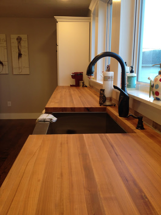 "My Take on Butcher Block Countertops...""Woodn't"" You Like to Know"
