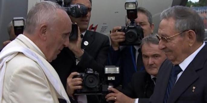 El papa Francisco ya está en Cuba