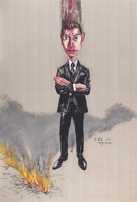 Zeng Fanzhi Le Peintre De La Tradition Contemporaine Chinoise