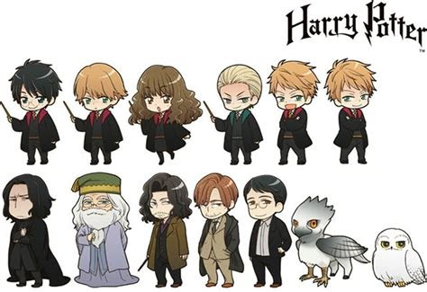 harry potter characters  transfigured  official
