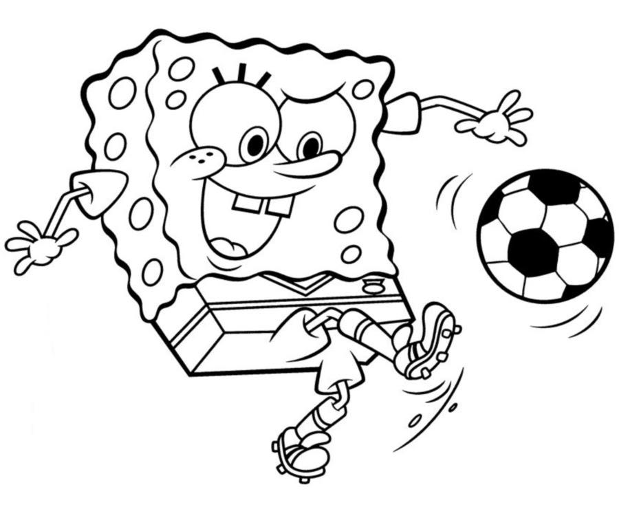 Coloring book - Spongebob