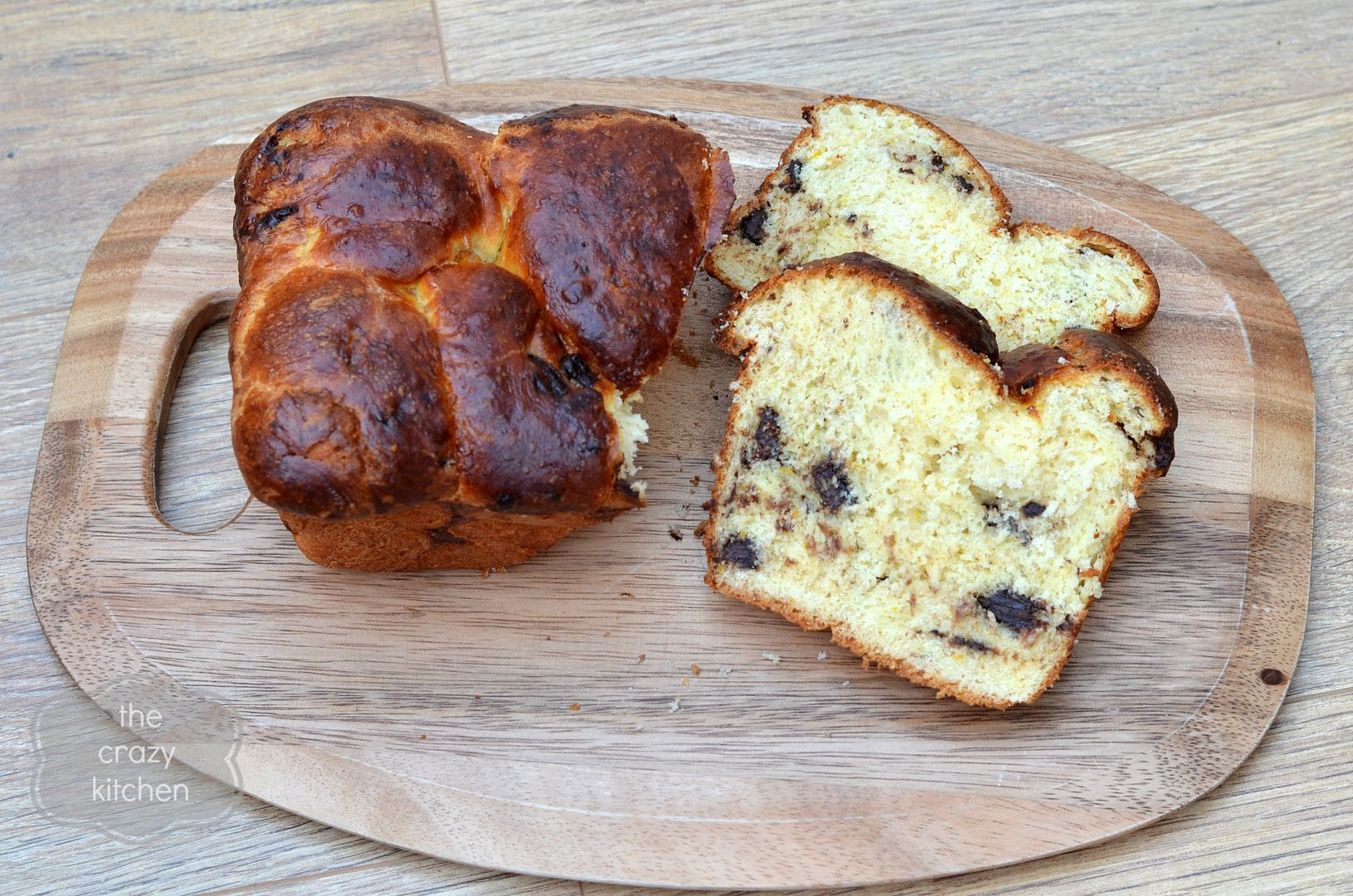 Chocolate Orange Brioche