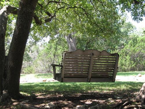 Swing at Laity Lodge