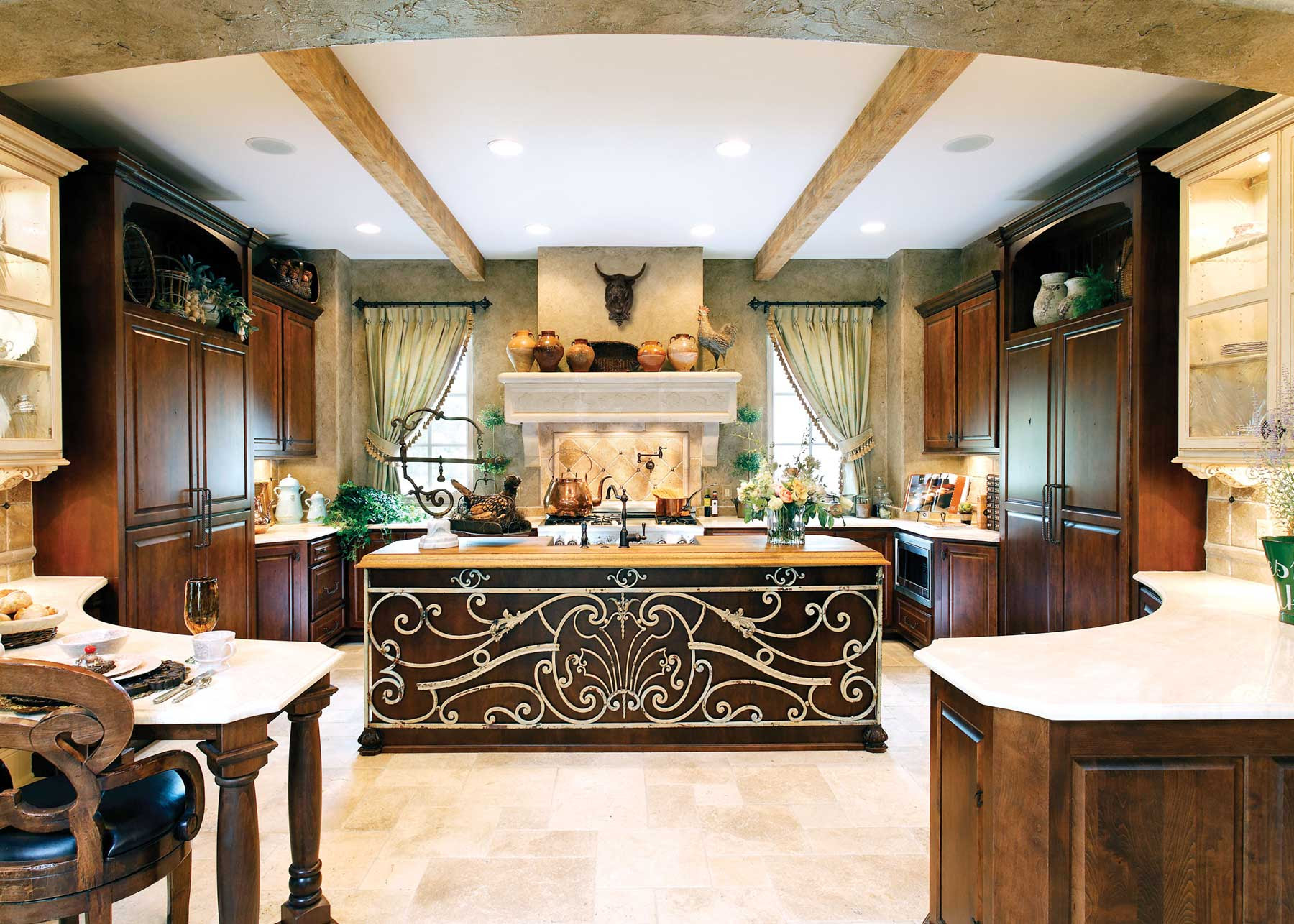 Large Kitchen Designs Ideas Presented in Some Styles ...