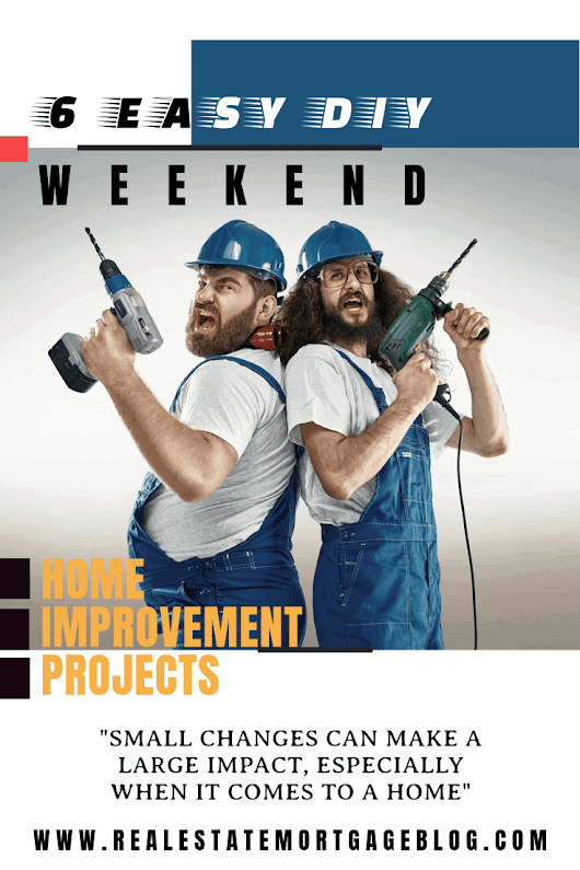 6 Easy DIY Weekend Home Improvement Projects