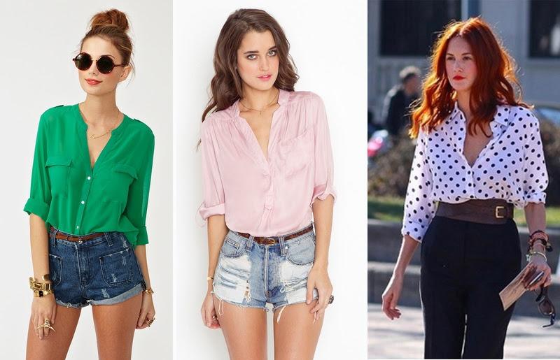 Camisa social feminina dica de estilo para ter um visual sexy sem ser vulgar