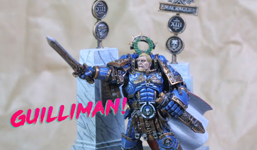 Showcase: Robute Guilliman, Primarch of the Ultramarines - Paint Water Diaries