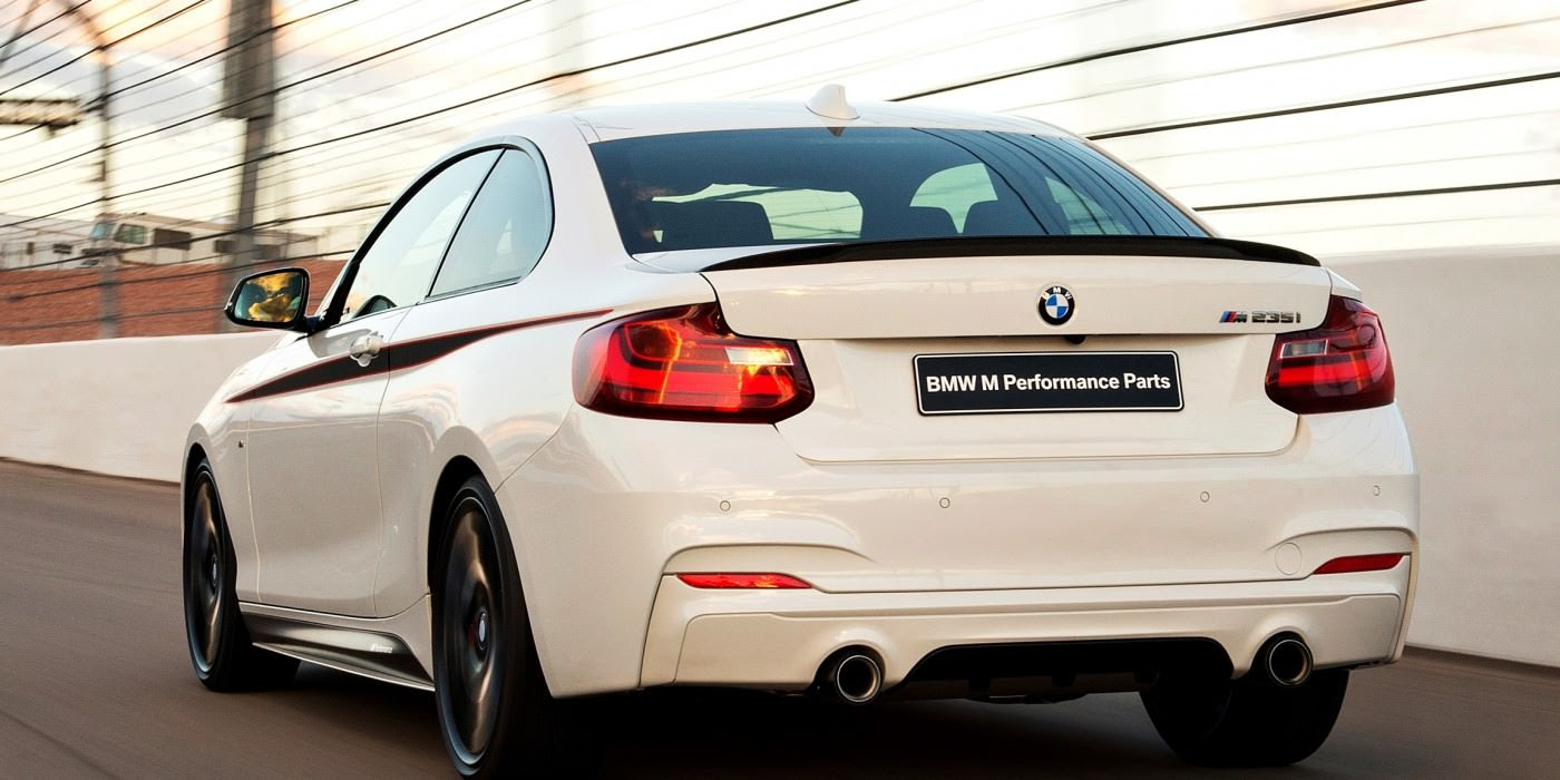 Gift Ideas  BMW 2 Series M Performance Parts Catalog Highlights 23