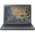 Samsung 3 XE501C13K 11.6″ Chromebook - Celeron N3060 1.6 GHz - 2 GB RAM - 16 GB SSD - Night Charcoal