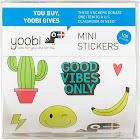 100ct Mini Stickers - Yoobi