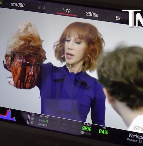 Kathy Griffin fired from CNN after gory Trump photo shoot