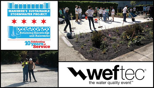 Retaining Knowledge and Rainwater at WEFTEC » Donohue & Associates, Inc.