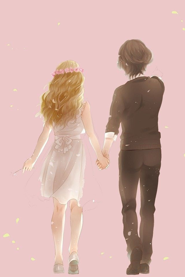 Anime Couple Holding Hands : anime, couple, holding, hands, Anime, Couples, Holding, Hands, Wallpaper