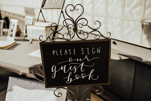 Our Favorite Creative Guest Book Ideas - Infinity Events & Catering Blog